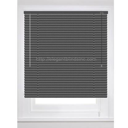"Picture of 1"" Dynasty Architect Mini Blinds - Metallic Colors"