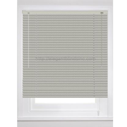 "Picture of 1"" Dynasty Architect Mini Blinds  - Perforated Colors"