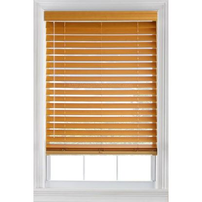 "Picture of 2 ½"" Basswood Blinds"