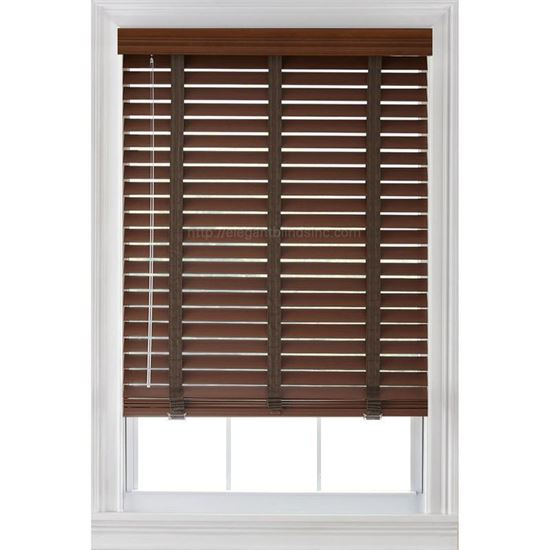 """Picture of 2"""" Basswood Blinds"""