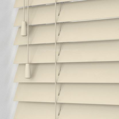 "Picture of 2"" Fauxwood Blinds - Sandblast"