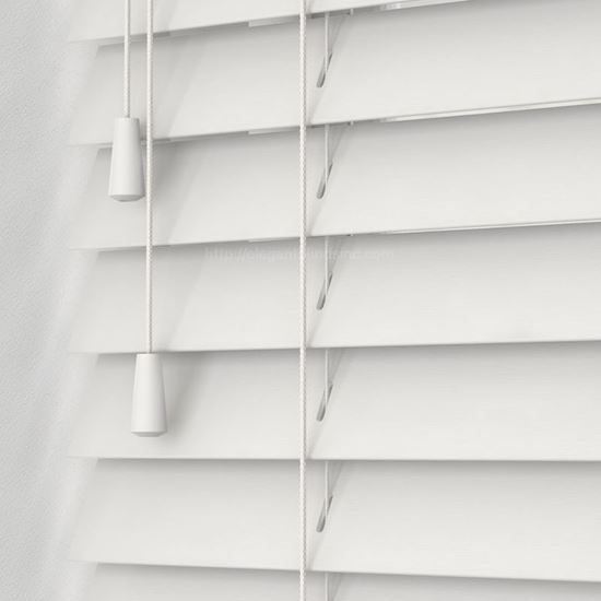 """Picture of 2"""" Fauxwood Blinds - Smooth"""