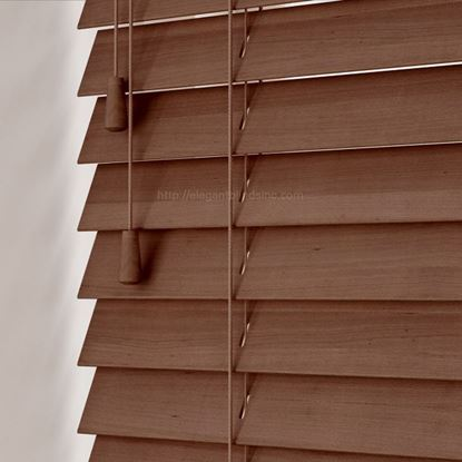 "Picture of 2"" Fauxwood Blinds - Textured"
